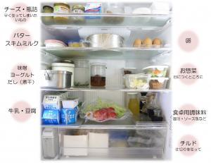 冷蔵庫の整理術